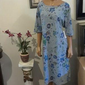 NWT Plus Size LuLaRoe Shirt Dress